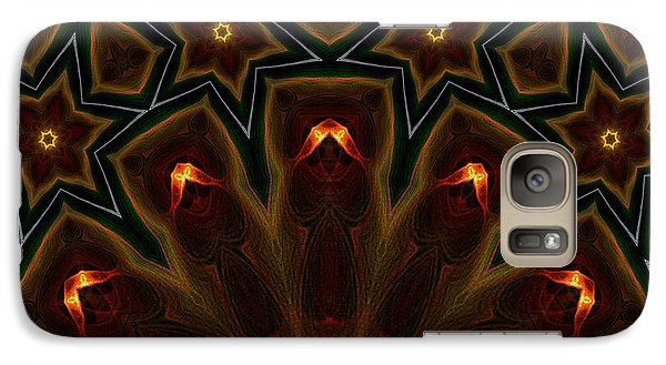 Galaxy Case featuring the digital art They Rise From The Deep by Owlspook