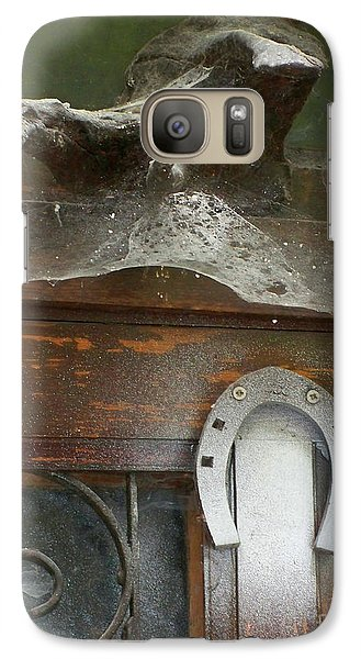 Galaxy Case featuring the photograph Thing Above The Door by Newel Hunter