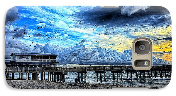 Galaxy Case featuring the photograph Think It'll Rain? by Don Durfee