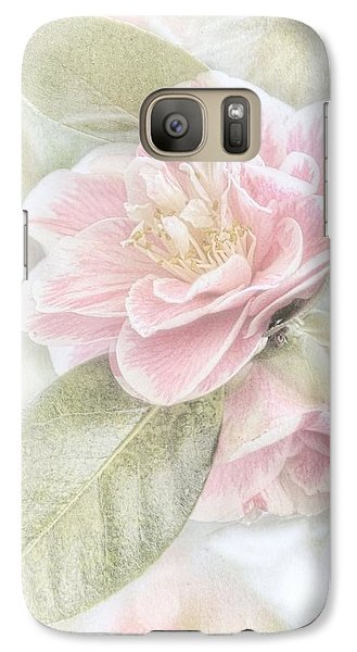 Think Pink Galaxy S7 Case by Peggy Hughes