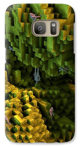 Galaxy Case featuring the digital art Thinkers And Explorers by Matt Lindley