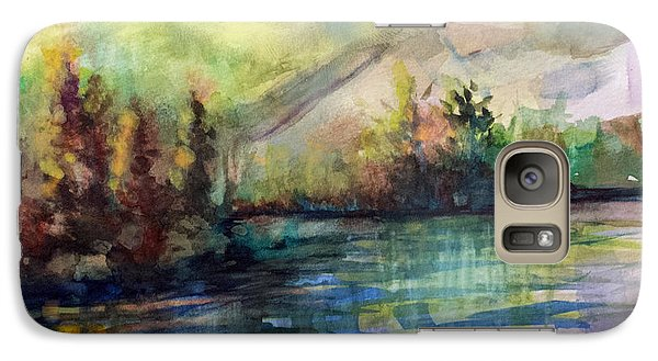 Galaxy Case featuring the painting Thinking Of Sargent by Allison Ashton