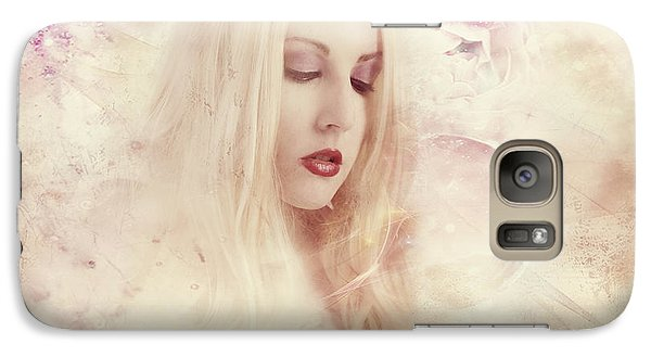 Galaxy Case featuring the digital art Thinking Of You by Riana Van Staden