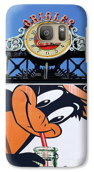 Thirsty Oriole Galaxy S7 Case by James Brunker