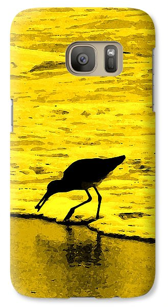 Galaxy Case featuring the photograph This Beach Belongs To Me by Ian  MacDonald