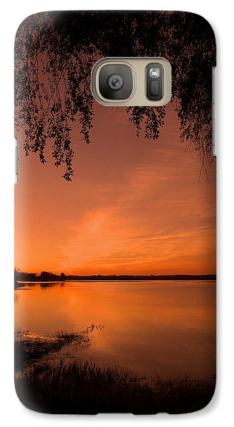 Galaxy Case featuring the photograph This Is A New Day ... by Juergen Weiss