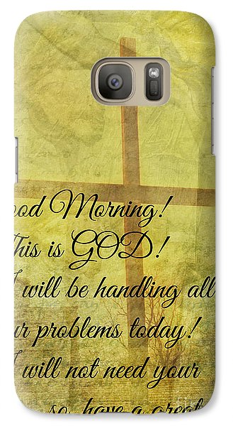 Galaxy Case featuring the digital art This Is God by Erika Weber