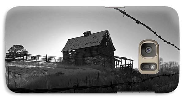 Galaxy Case featuring the photograph This Old Barn by Eric Rundle