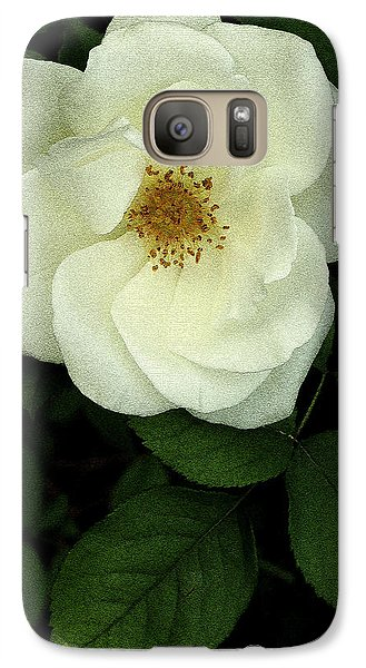 Galaxy Case featuring the photograph This Rose For You by James C Thomas
