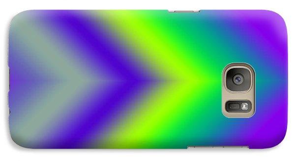 Galaxy Case featuring the digital art This Way  by Karen Nicholson
