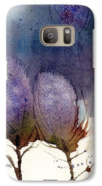 Galaxy Case featuring the painting Thistle Weather by Anne Duke