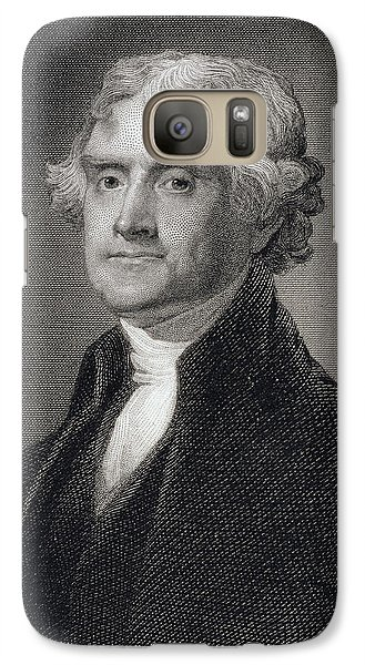 Thomas Jefferson Galaxy Case by Gilbert Stuart