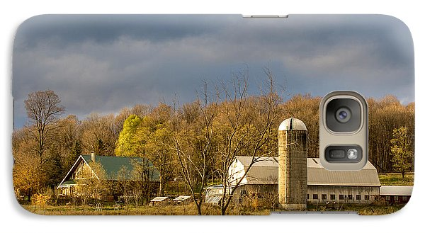 Galaxy Case featuring the photograph Thompson Point Dairy by Jeremy Farnsworth
