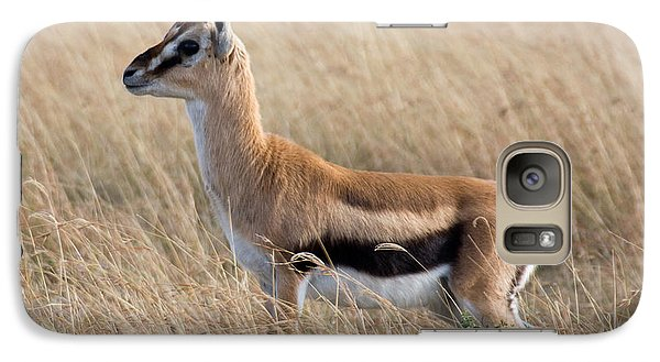 Galaxy Case featuring the photograph Thompson's Gazelle by Chris Scroggins