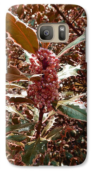 Galaxy Case featuring the photograph Thorn Berry by Laurie Tsemak