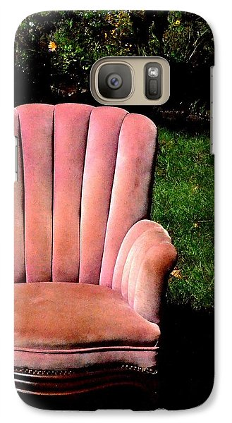Galaxy Case featuring the photograph Thoughtful Spot by Carlee Ojeda