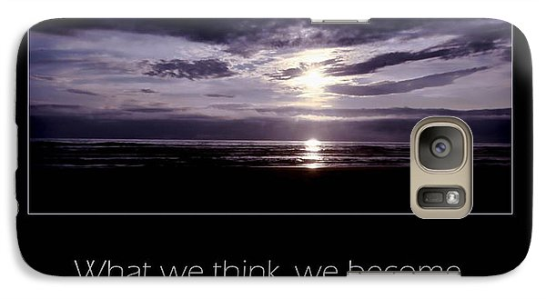 Galaxy Case featuring the photograph Thoughts by Don Schwartz