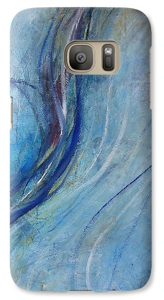 Galaxy Case featuring the painting Threads by John Fish