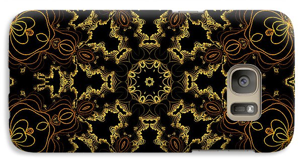 Galaxy Case featuring the digital art Threads Of Gold And Plaits Of Silver by Owlspook