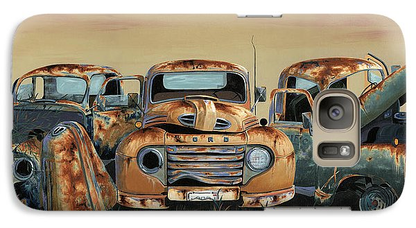 Transportation Galaxy S7 Case - Three Amigos by John Wyckoff
