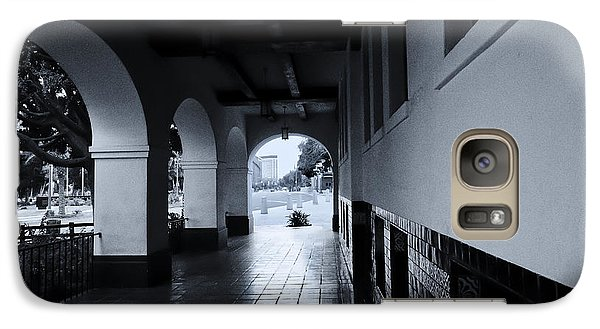 Galaxy Case featuring the photograph Three Archways Olvera by Joseph Hollingsworth