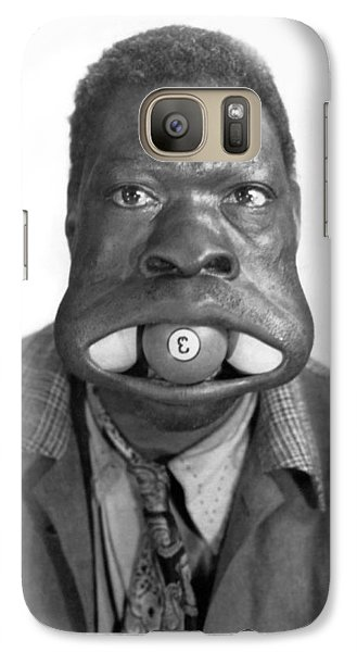 Bass Galaxy S7 Case - Three Ball Charlie by Underwood Archives