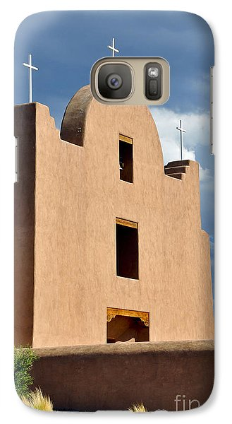 Galaxy Case featuring the photograph Three Crosses by Gina Savage