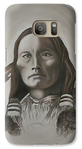 Galaxy Case featuring the painting Three Fingers by Michael  TMAD Finney
