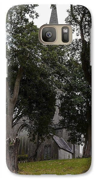Galaxy Case featuring the photograph Three Relics by Winifred Butler