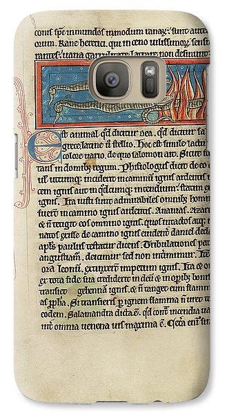 Salamanders Galaxy S7 Case - Three Salamanders by British Library