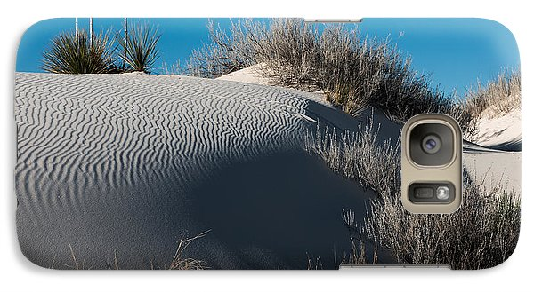 Galaxy Case featuring the photograph Three Yuccas On The Dune by Sherry Davis