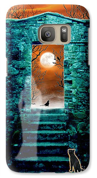 Galaxy Case featuring the digital art Threshold by Cristophers Dream Artistry