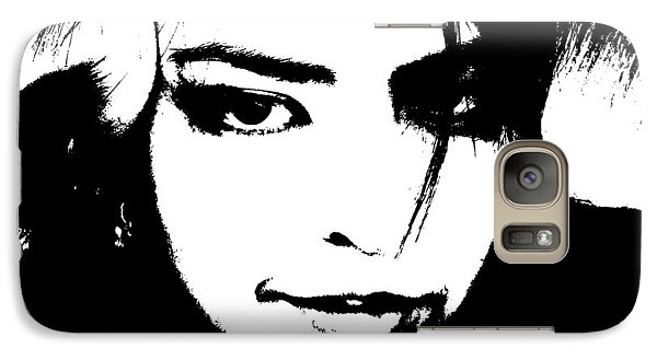 Galaxy Case featuring the photograph Threshold Self Portrait by Zinvolle Art