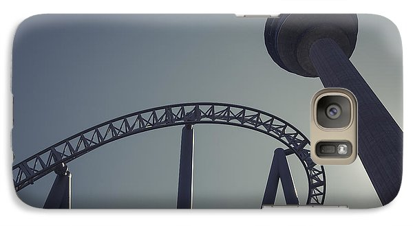 Galaxy Case featuring the photograph Thrilling Curves by Ari Salmela