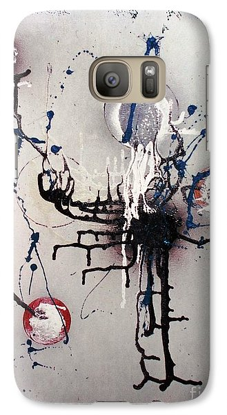 Galaxy Case featuring the painting Through Mezcal Soaked Eyes by Roberto Prusso