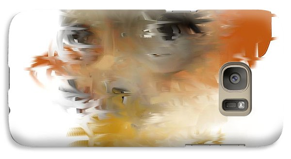 Galaxy Case featuring the painting Through The Eyes Of The Storm by Jessica Wright