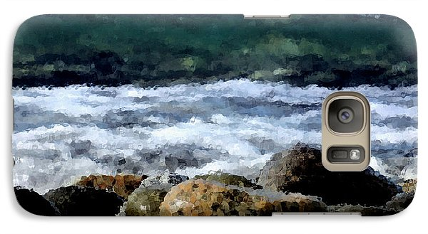 Galaxy Case featuring the photograph Through The Glass by Arlene Sundby