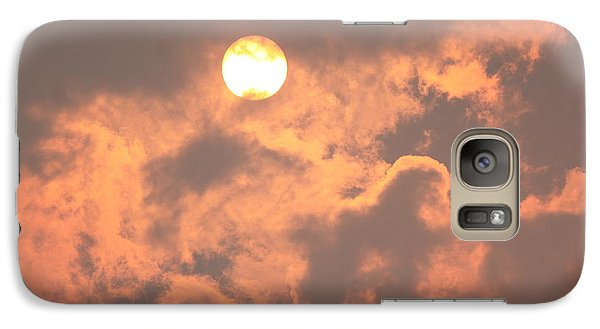 Galaxy Case featuring the photograph Through The Smoke by Melanie Lankford Photography