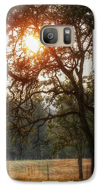 Galaxy Case featuring the photograph Through The Trees by Melanie Lankford Photography