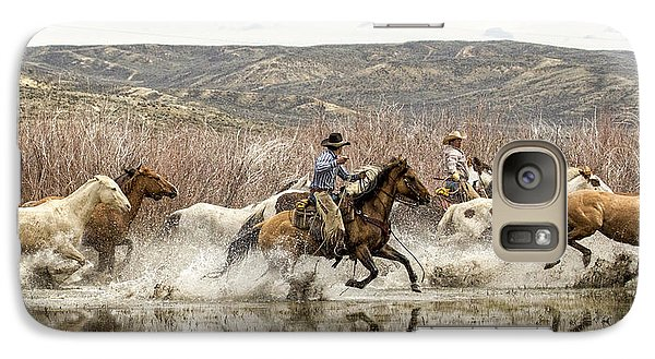 Galaxy Case featuring the photograph Through The Water I by Joan Davis