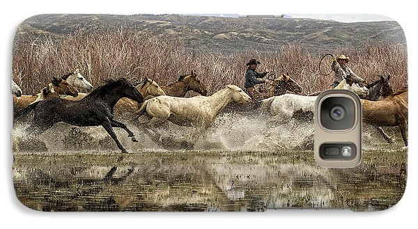 Galaxy Case featuring the photograph Through The Water II by Joan Davis