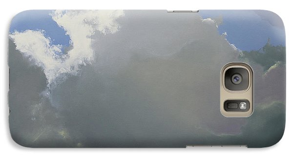 Galaxy Case featuring the painting Thunderhead 2 by Cap Pannell