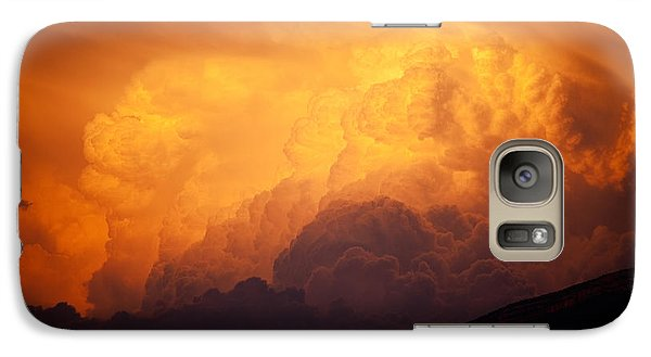 Thunderhead At Sunset Galaxy S7 Case