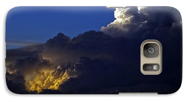 Galaxy Case featuring the photograph Thunderstorm II by Greg Reed