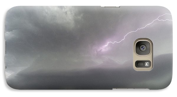 Galaxy Case featuring the photograph Thunderstorm by Rob Graham