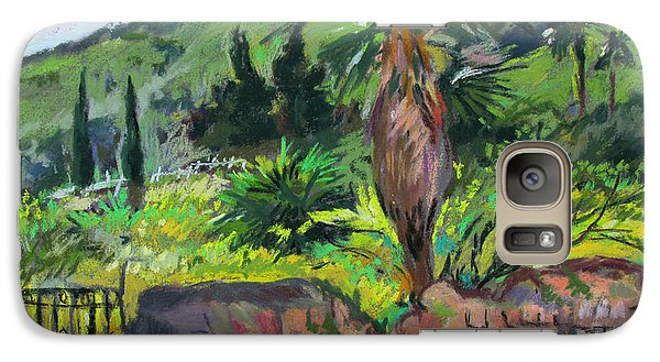 Galaxy Case featuring the painting Tiberius Israel by Linda Novick