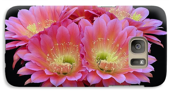 Galaxy Case featuring the photograph Tickled Pink by Cindy McDaniel