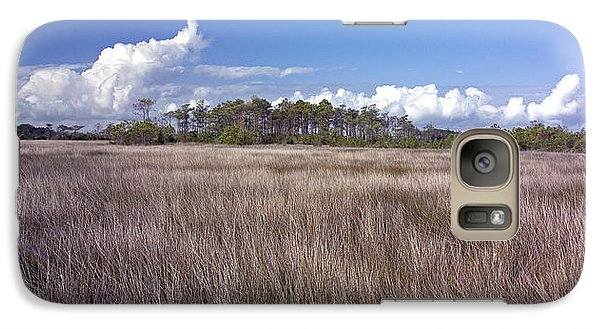 Galaxy Case featuring the photograph Tidal Marsh On Roanoke Island by Greg Reed