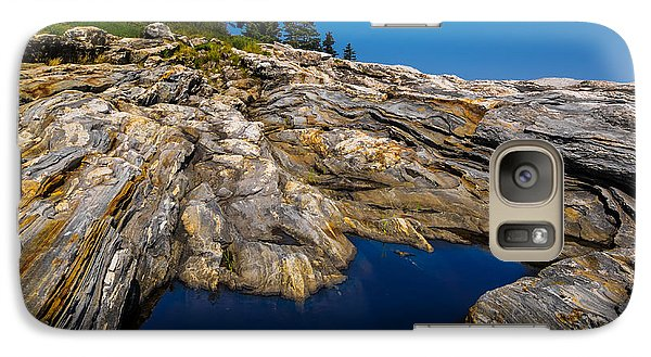 Galaxy Case featuring the photograph Tidal Pool by Steve Zimic