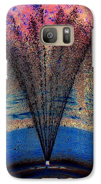 Galaxy Case featuring the photograph Tidal Wave Of Color by Sue Melvin